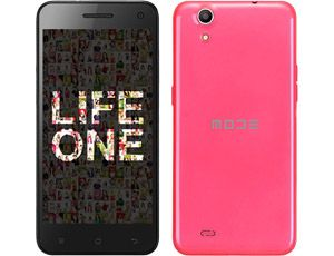 """SMARTPHONE ANDROID™ 4.4 CELLULARE DUAL SIM MODE LIFE ONE OCTA CORE 2GB RAM 16GB ROM SCHERMO 5"""" HD IPS CAMERA 13 + 13MPX ROSA"""
