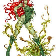 Bishoujo Style Poison Ivy by Shunya Yamashita - DC Comics, Batman, anime, manga