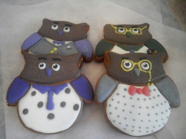 Owls gingerbread
