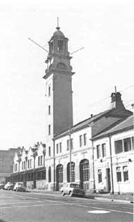 The old Fairview Fire Station with its elegant tower