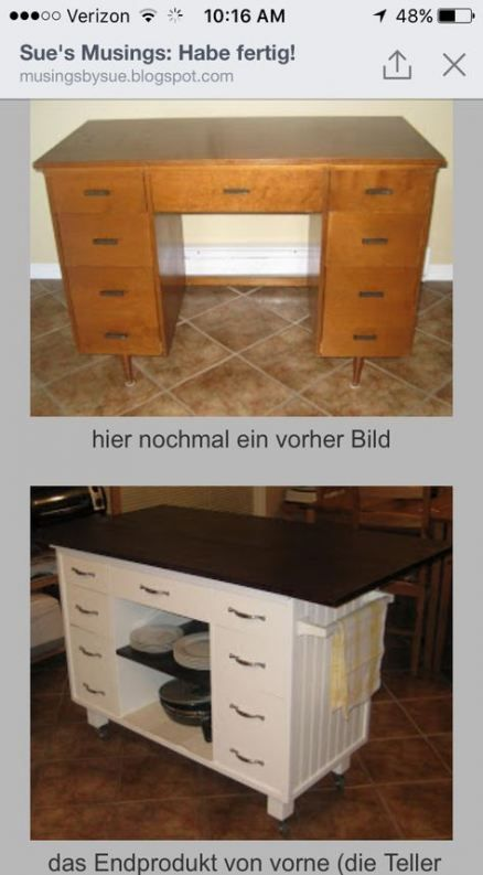 54+ trendy sewing table refurbished kitchen islands   – House