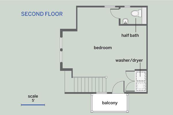 21 best shed house plans images on pinterest floor plans for Backyard cottage floor plans
