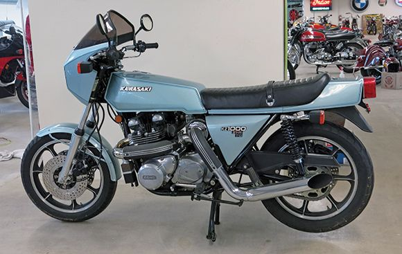 1978 Kawasaki KZ1000 Z1-R TC. This motorcycle was featured in the September 2014 issue of Rider magazine.