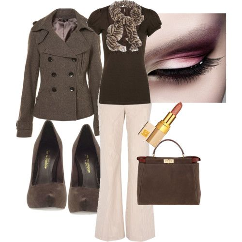 brownWork Clothing, Fashion, Style, Jackets, White Pants, The Offices, Work Outfits, Business Casual, Work Attire