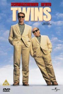 """Twins - I remember that this was the first comedy I had seen Arnold in. I was very impressed at how funny he was & at how well he stepped out of his """"tough macho brute"""" image"""