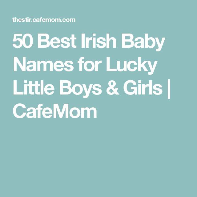 50 Best Irish Baby Names for Lucky Little Boys & Girls   CafeMom
