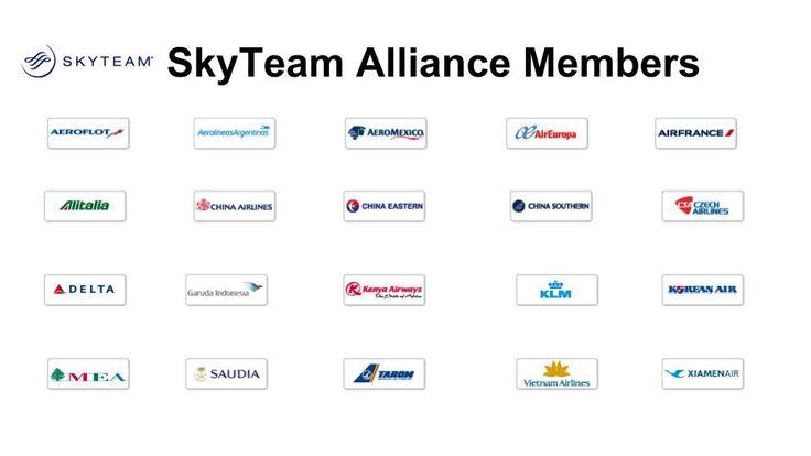 Airline Alliances-SkyTeam