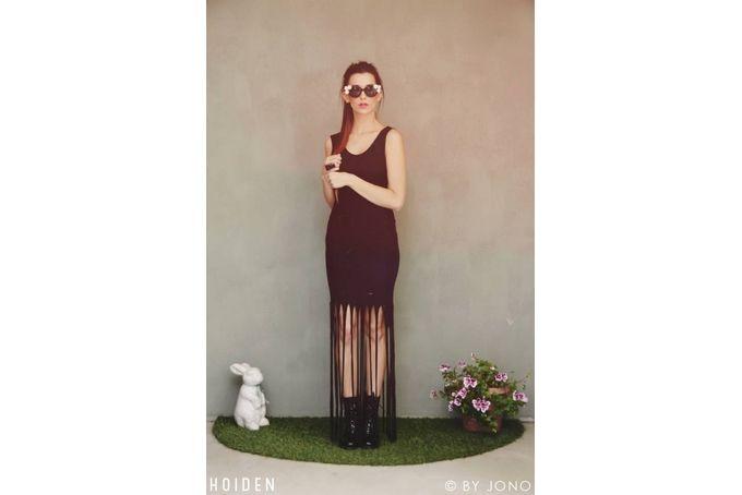 Black Fringe dress by Hoiden