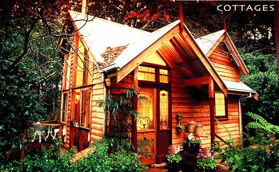 On my wishlist for my second honeymoon destination and it is in Australia - in the Dandenong Ranges in Victoria!