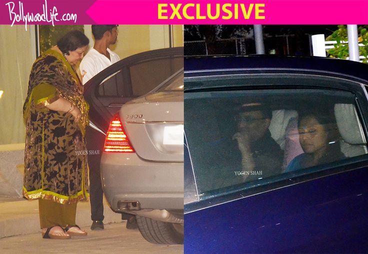 Rani Mukerji goes on a dinner date with hubby Aditya Chopra and mom-in-law Pamela Chopra – view HQ pics #FansnStars
