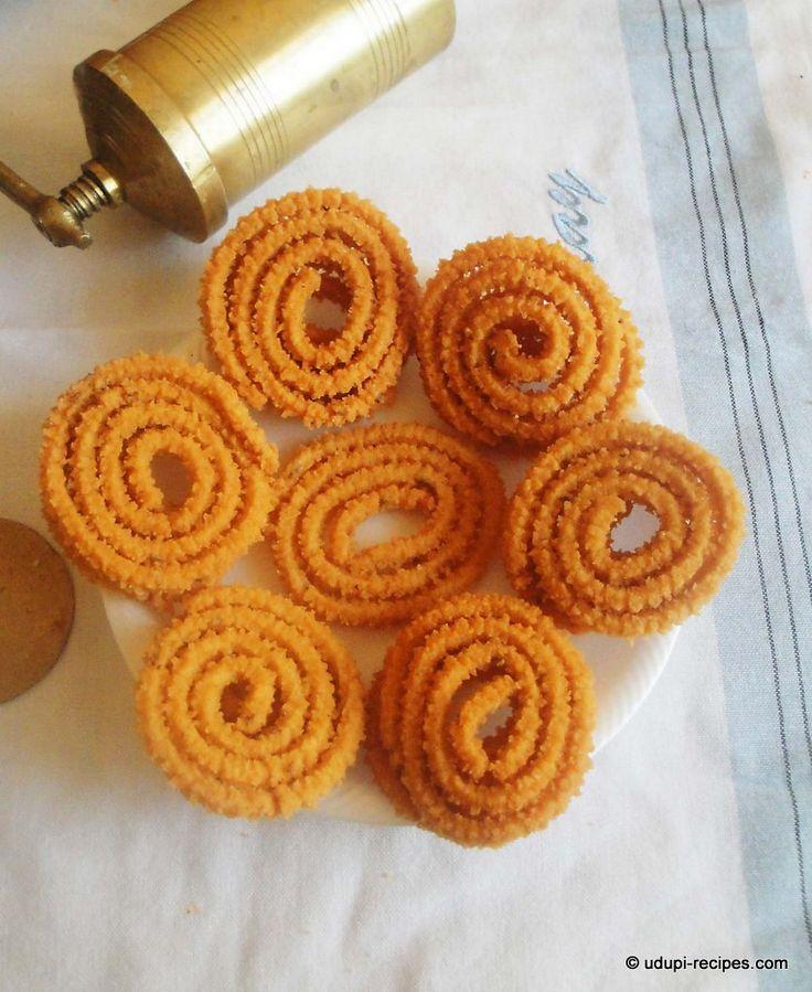 Traditional Murukku Recipe | Sri Krishna Janmashtami Recipes - Udupi Recipes