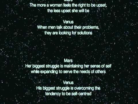 Men Are From Mars, Women Are From Venus Summary - John Gray