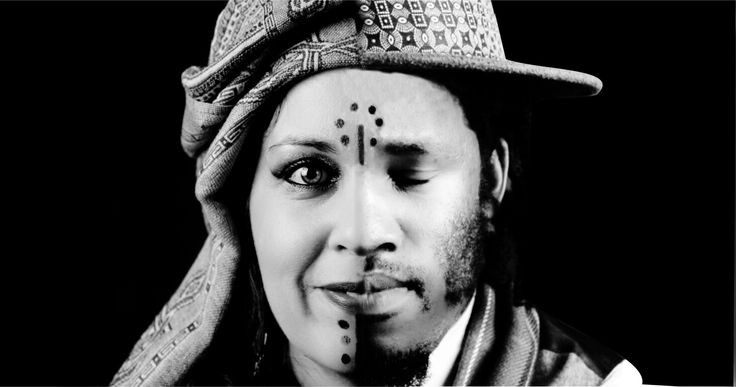 Creative black and white  cover bassickarma south african world  musicians