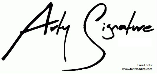 Arty Signature Font  Free at fontsaddict.com  Download here: http://www.fontsaddict.com/font/arty-signature.html