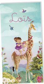 Lief geboortekaartje voor een tweede kindje van www.petitkonijn.nl  #zusje #tweedekindje #geboortekaartje #2ekindje #grotezus