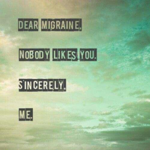 Best 25 Migraine Quotes Ideas On Pinterest Chronic