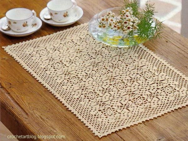 Free Printable Crochet Placemat Patterns : 17 Best images about Crochet, crochet, crochet on ...