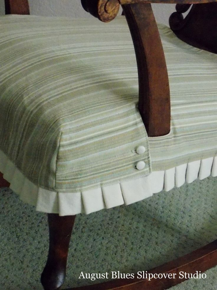 August Blues - Rocking Chair Detail