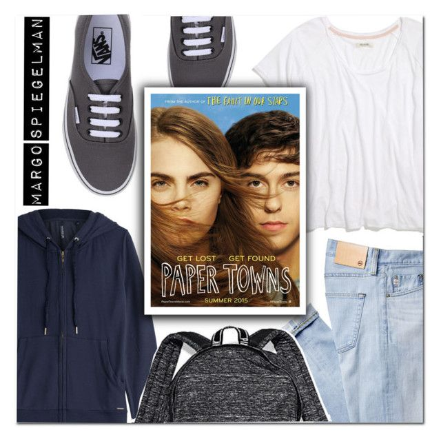 """""""MARGO SPIEGELMAN"""" by makingastatement ❤ liked on Polyvore featuring AG Adriano Goldschmied, Woolrich, Madewell, Vans and Victoria's Secret"""