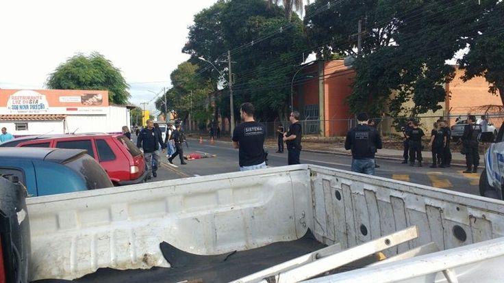 PCDF/Divulgação Execução de detento que deixava unidade do SIA para o saidão do Dia das Mães revelou um audacioso plano de bandidos que pretendem invadir Postos Comunitários de Segurança e batalhões para roubar armamento dos militares