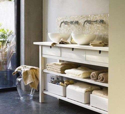 Quite like this Ikea hack.