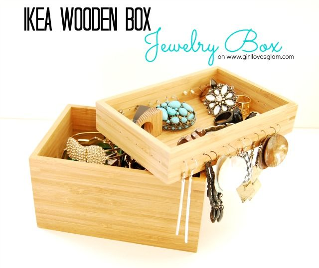 82 best images about craft jewelry love tutorials and for Wooden box tutorial