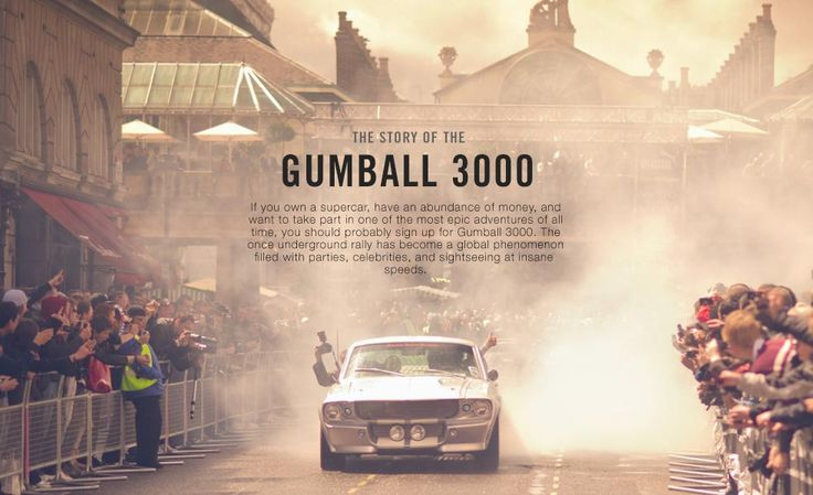 The Story of The Gumball 3000: The World's Most Lavish Rally