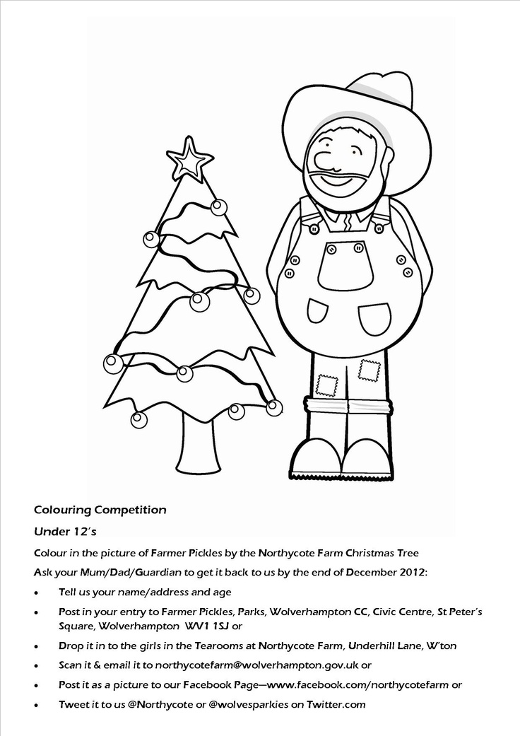 Our under 12 colouring competition.  C'mon kids - what are you waiting for?  ^Wilf