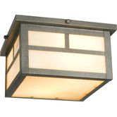 Found it at Wayfair - Craftsman Outdoor Flush Mount