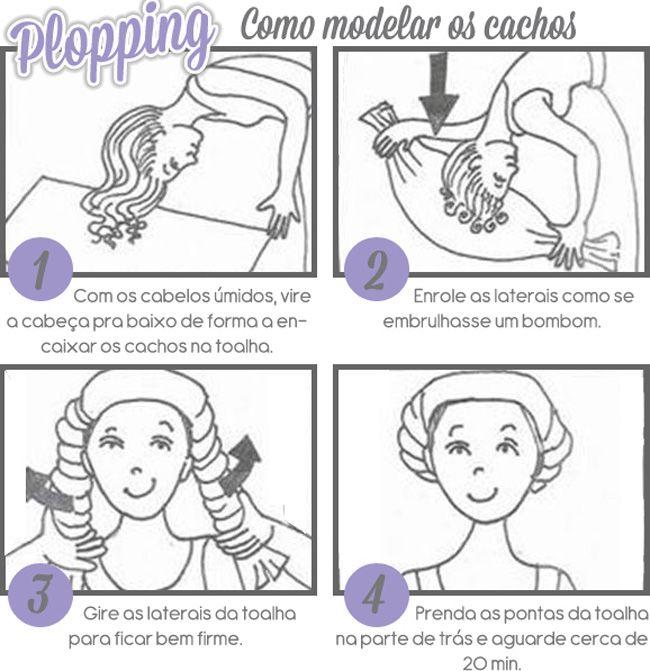 PLOPPING - A MELHOR TÉCNICA PARA SECAR E DEFINIR OS CACHOS!