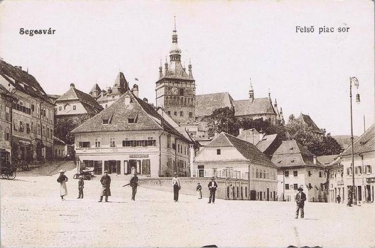 Sighisoara anii 1900
