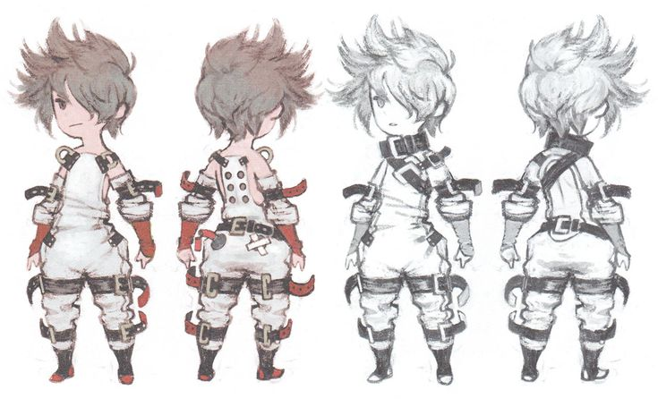 Tiz from Bravely Second: End Layer