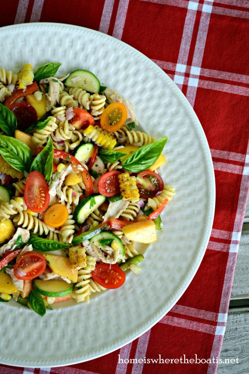 Farmers' Market Pasta Salad | Savories: Yummy Recipes I'll Probably N...