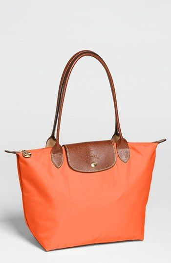 Longchamp 'Le Pliage - Small' Shoulder Bag  Need to find one of these in Milan :)