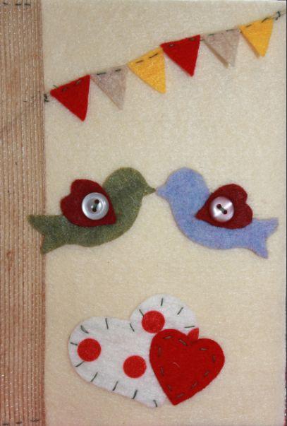 #felt craft #card cover