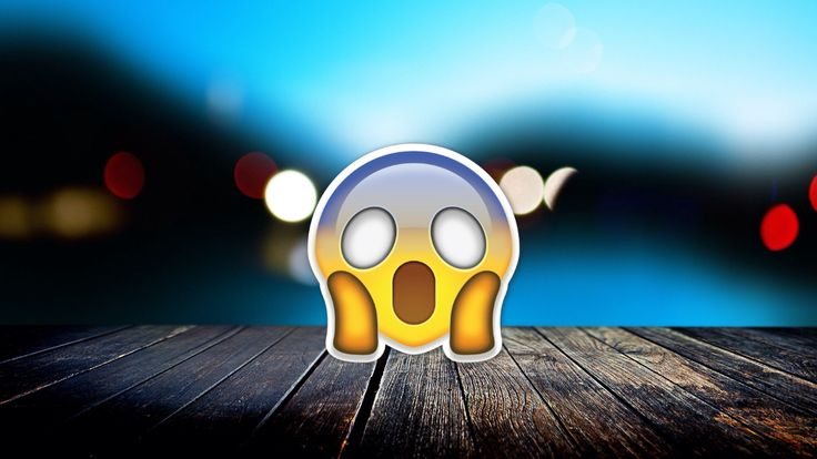 SHOCKED!!! Emoji, Wallpaper