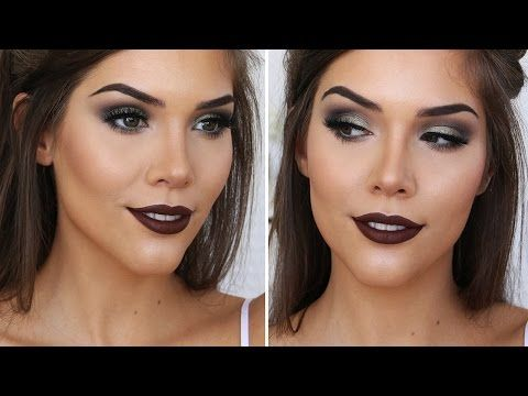 SMOKEY GLAM MAKEUP TUTORIAL ft. Too Faced Sweet Peach Palette | Katerina Williams - YouTube
