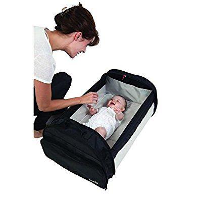BabySun Lit de Voyage Simple Bed - Couffin Nomade Noir