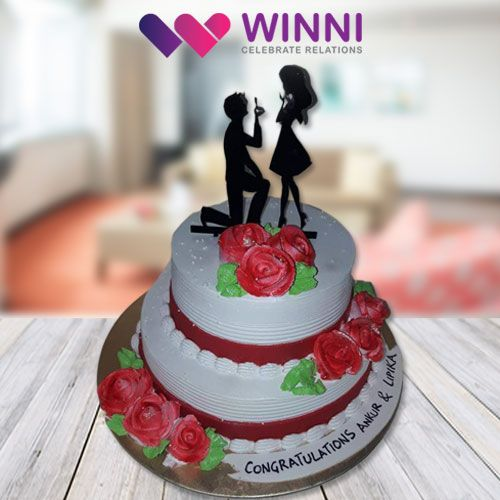 Express your love like never before by gifting this delicious #cake to your special one. To order this amazing delicacy, simply visit #Winni