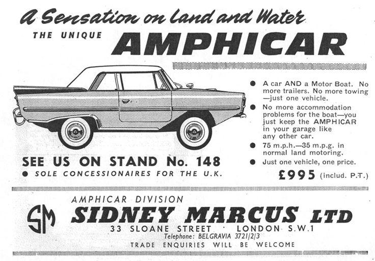 23 Best Amphicar Images On Pinterest Amphibious Vehicle