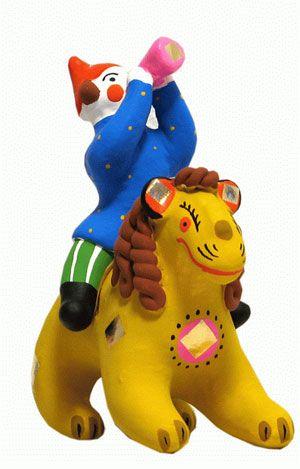 Dymkovo toys