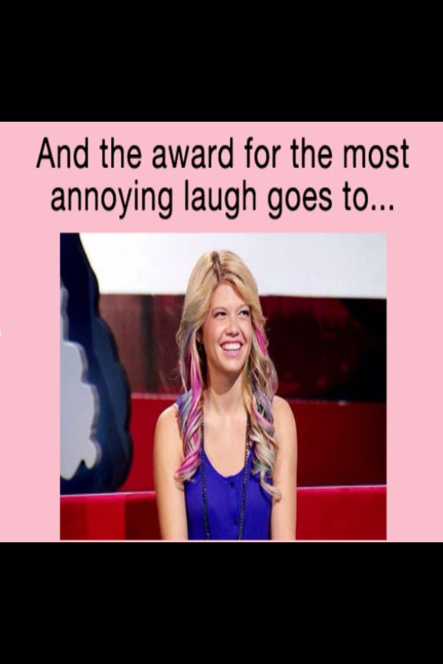 Chanel west coast on ridiculousness...I can't be the only one who loves her laugh tbh!