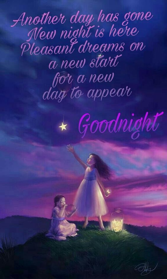 Another Day Has Gone New Night Is Here 3d Design Good Night