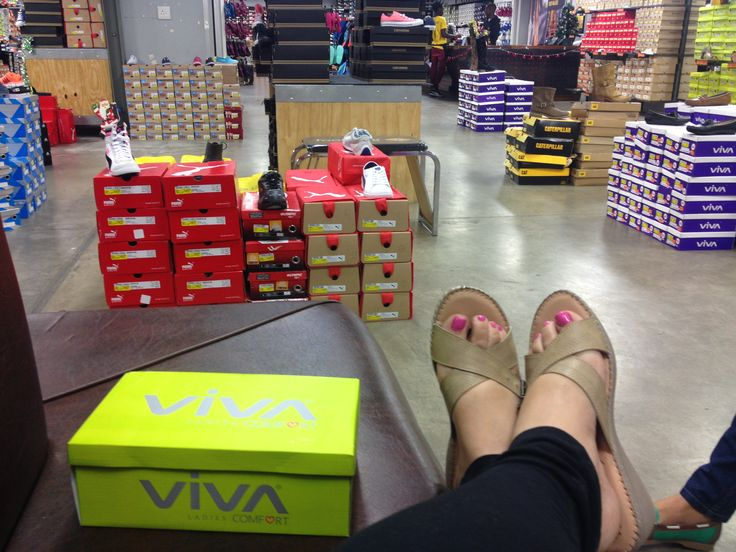 Viva foot selfie in our Willowbridge store