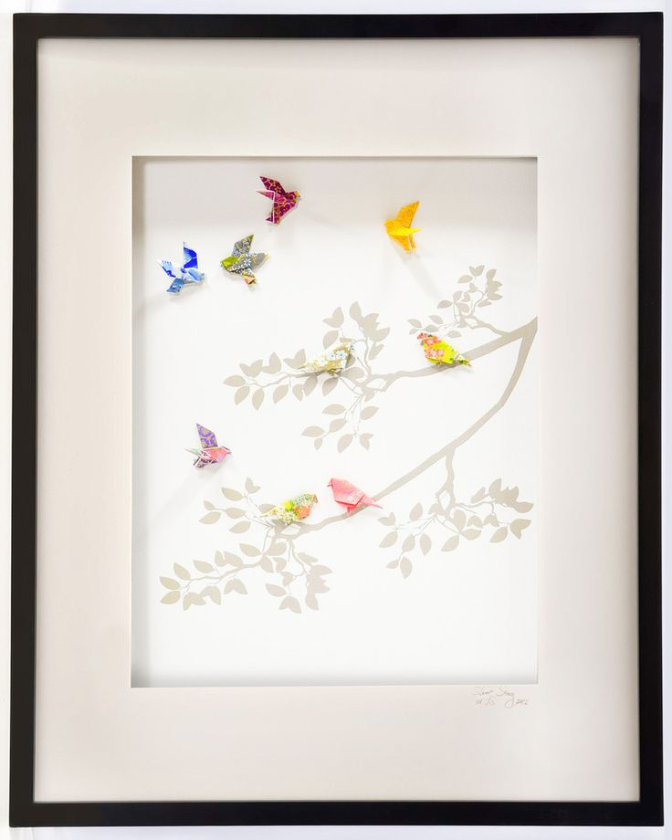 Birds of Paradise Large Wall Art