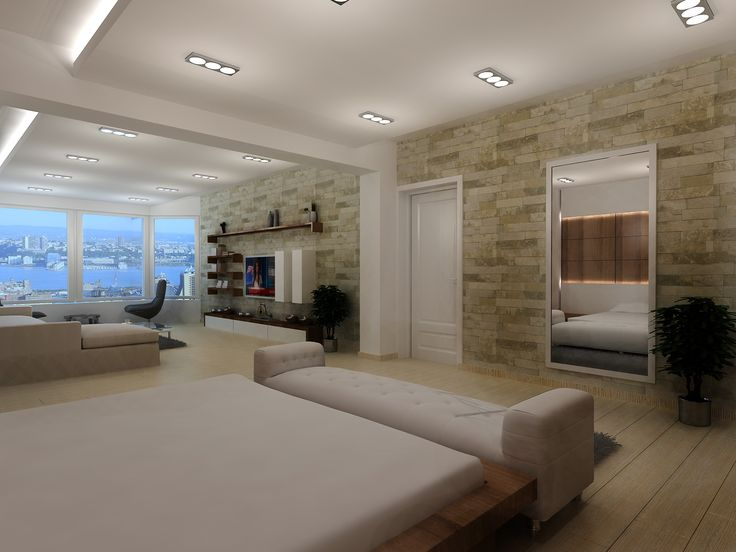 Villa Tasarımı Yatak Odası