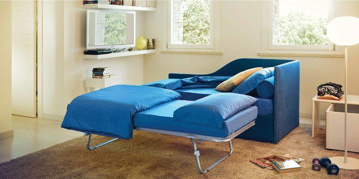 Oltre 25 fantastiche idee su divani letto su pinterest - Poltronesofa letti contenitore ...