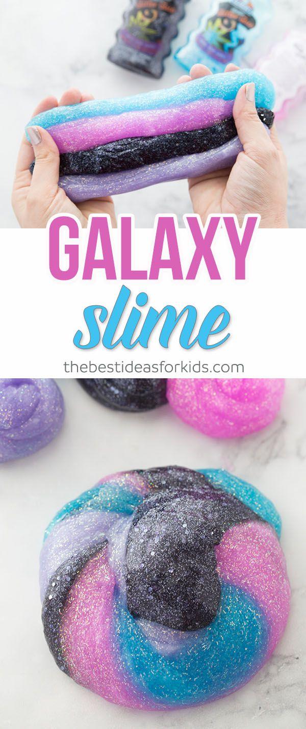 die besten 25 galaxy slime ideen auf pinterest. Black Bedroom Furniture Sets. Home Design Ideas