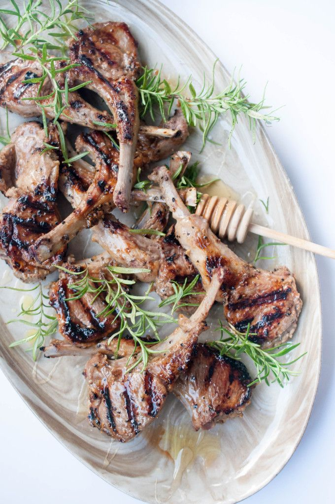 This is one of my staple BBQ go-to recipes. I've even turned non-lamb eating friends with this yummy sticky Honey Balsamic Lamb Chops!