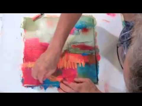 Jane Davies - Color Orange and Blue - YouTube ( no talk - demo - paint & oil? Pastels)